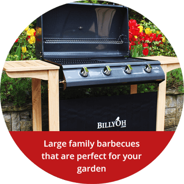 Large family barbecues that are perfect for your garden