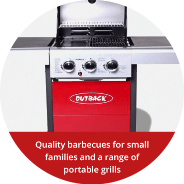Quality barbecues for small families and a range of portable grill