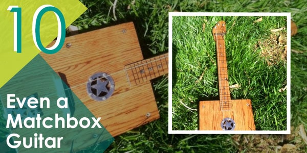 Even a Matchbox Guitar