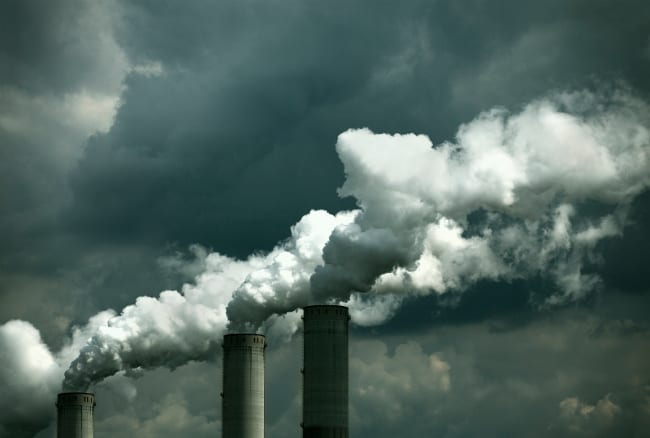 Toxic chemicals in the air