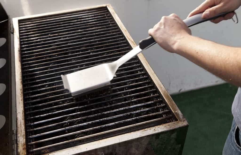 Failure to Give Your Grill a Thorough Cleaning