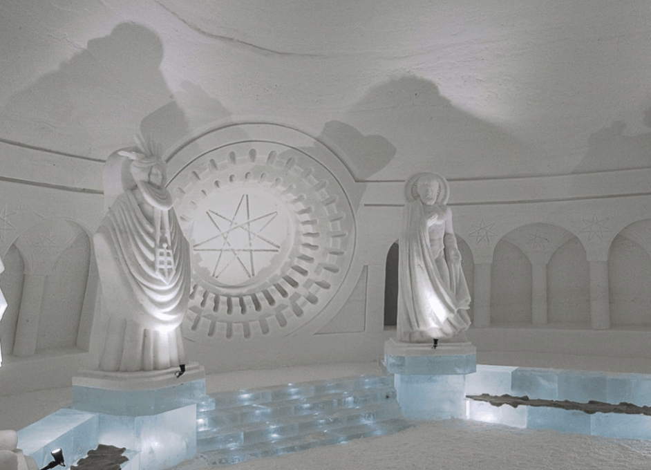 Calling the Attention of GoT Fans! Check out This GoT Inspired Ice Village