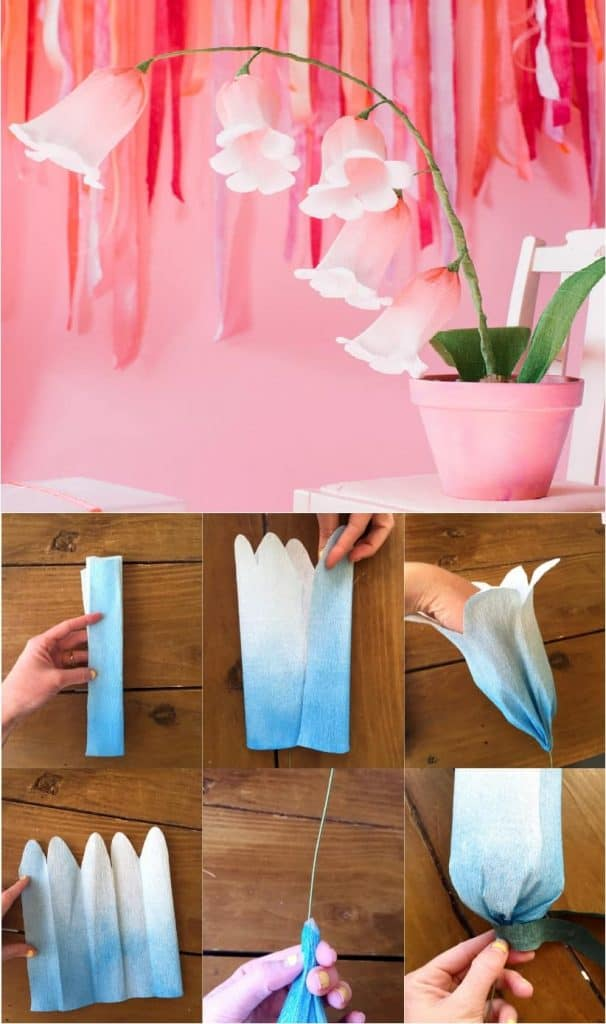 Decorate Your Home with These Five Easy Paper Flowers Tutorial