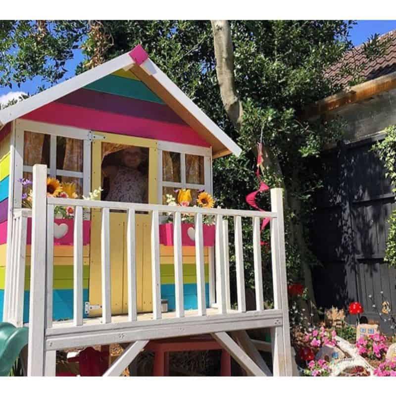 best-wooden-playhouse-rainbow-themed