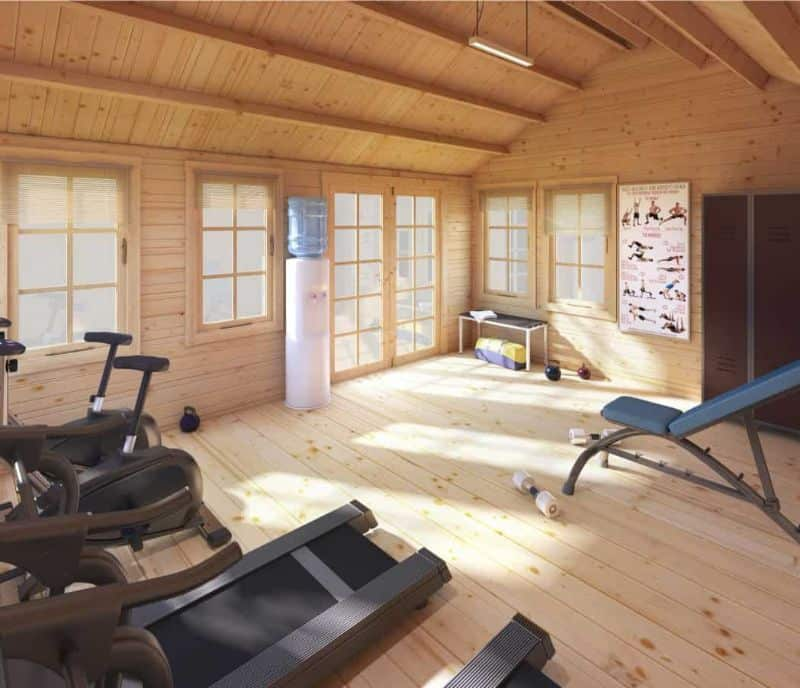 ways-to-turn-your-log-cabin-into-a-home-gym-4-clearing-and-storing-billyoh