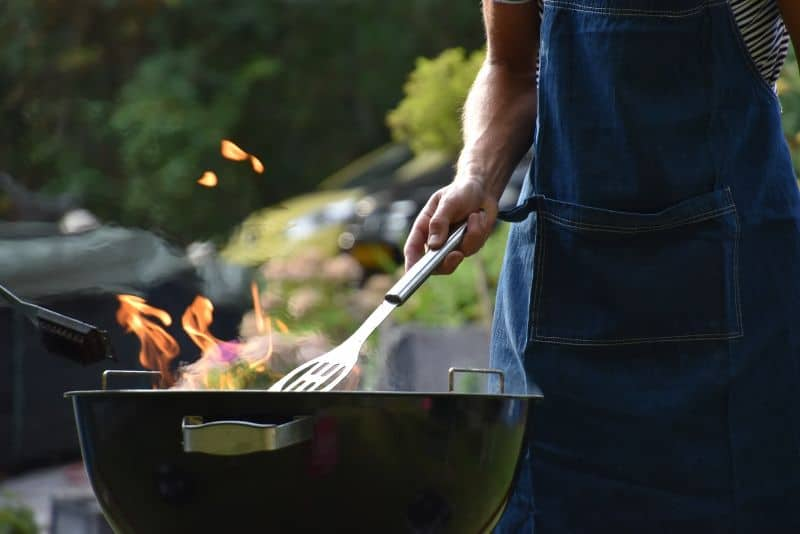 Is a gas or charcoal BBQ safer?