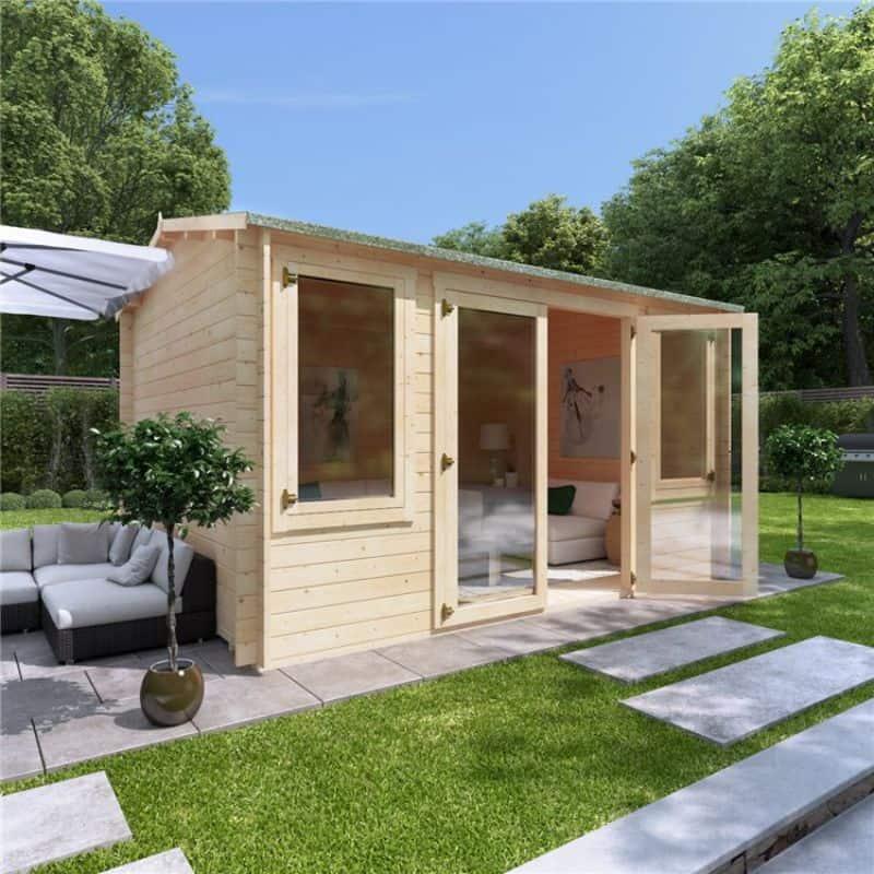 BillyOh Dorset reverse apex log cabin