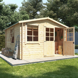 BillyOh Clubman Heavy Duty Shed Log Cabin