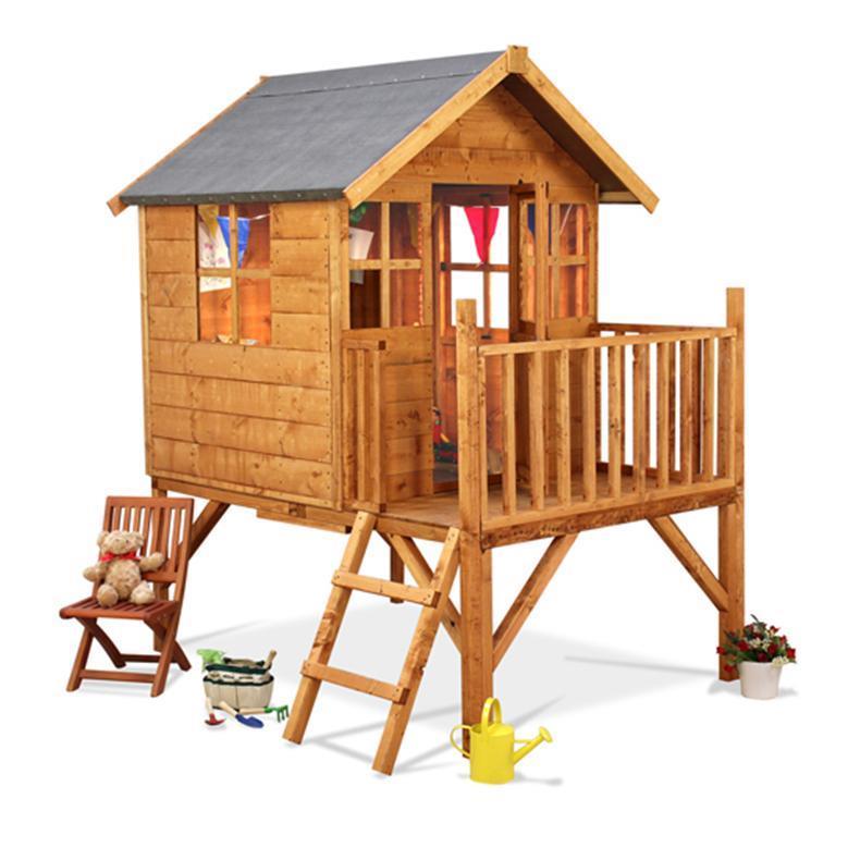 The BillyOh Mad Dash Bunny Tower Wooden Playhouse