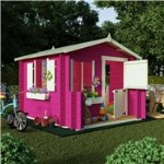 The BillyOh Mad Dash Junior Log Cabin Wooden Playhouses
