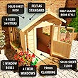 BillyOh Mad Dash Childs Log Cabin Playhouse