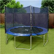 Mad Dash 'The One' Round Family Trampoline with Enclosure & Cover