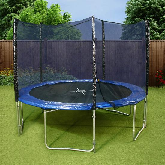 Mad Dash 10ft 'The One' Round Family Trampoline