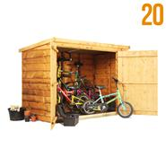 The BillyOh Pent Bike Store Range