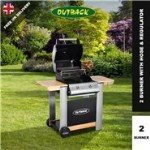 Outback Spectrum Hooded BBQ - 2 or 3 Burner with Hose & Regulator