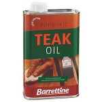 Barrettine Premier Low Odour Teak Oil for Garden Furniture