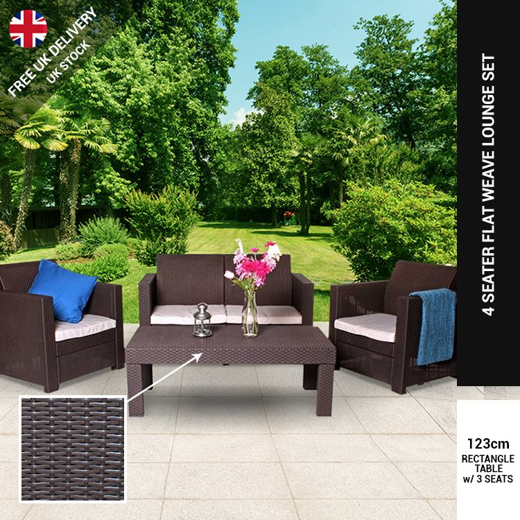 50 premium rattan patio furniture from 49 00 free delivery