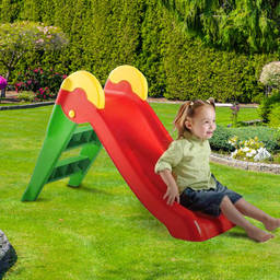 Keter Boogie Outdoor Toys  Garden Plastic Slide and Step