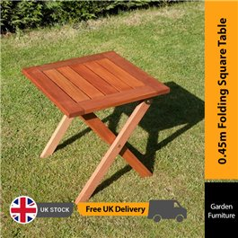 BillyOh Elegance Garden Table - 0.45m Square Folding