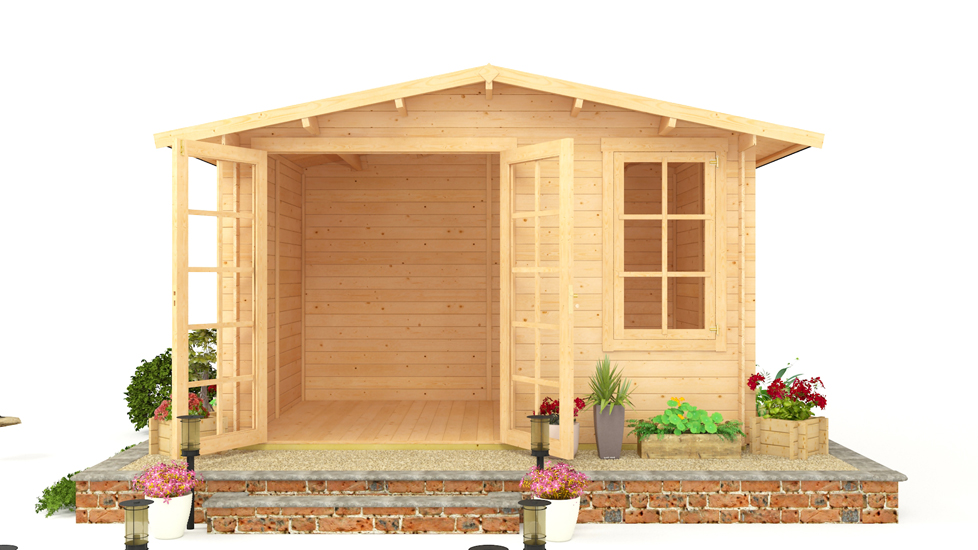 BillyOh Lodge garden Log Cabin 11 x 10