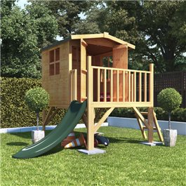 BillyOh Bunny Tower Playhouse with Slide Option