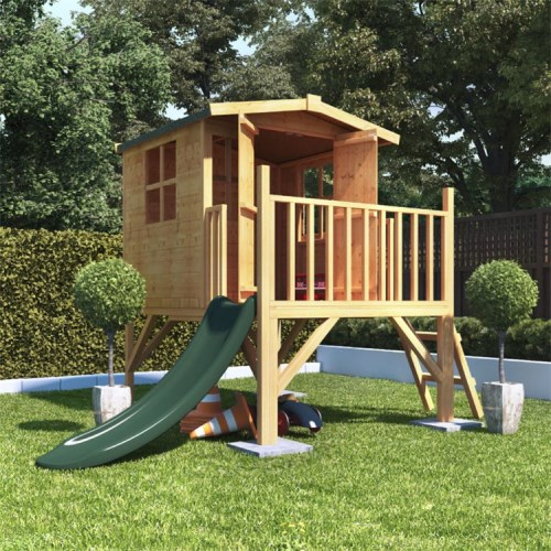 4x4 billyoh bunny tower childrens wooden playhouse outdoor. Black Bedroom Furniture Sets. Home Design Ideas