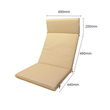 BillyOh Deluxe Garden Recliner Chair Cushions - Natural - Size