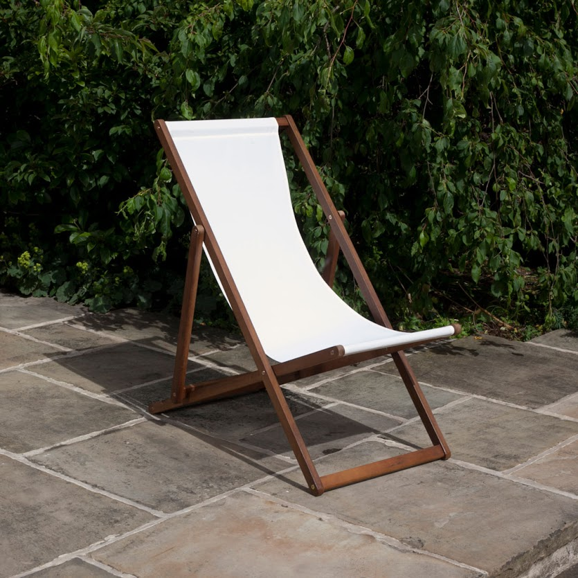 BillyOh Hampton 4 x Reclining Foldable Deck Chair