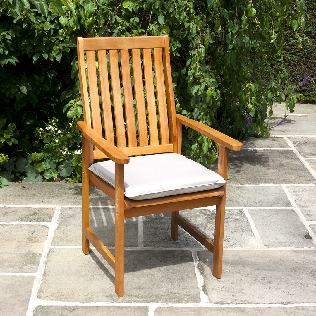 BillyOh Windsor High Back  10 x Wooden Acacia Hardwood Garden Armchair