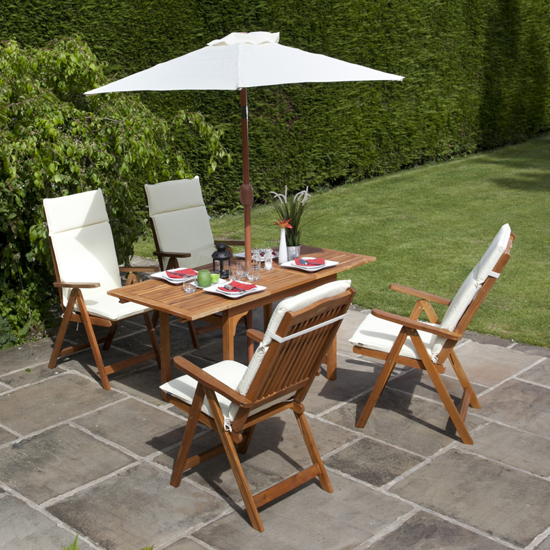 billyoh 4 seater windsor 12 16m rectangular dining set - Garden Furniture Table And Chairs