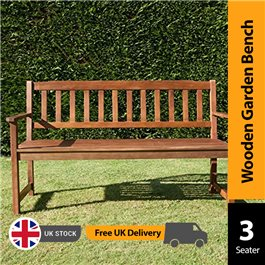 BillyOh Windsor Traditional Bench - 2 or 3 Seater