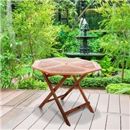 BillyOh Windsor  Garden Table - 1.0m Octagonal Folding