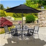 BillyOh Express 6 Seater Metal Garden Furniture Set