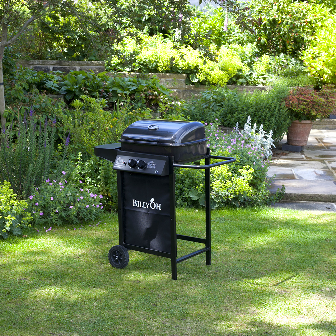 Image of BillyOh Patio Grill 2 Burner Hooded Gas Barbecue