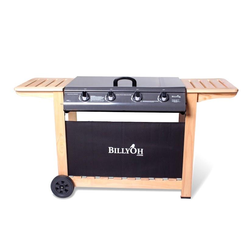 BillyOh Imperial 4 Burner Flat Bed BBQ