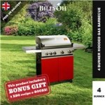 BillyOh Prestige Gourmet 4 Burner Grillstream Hooded Gas BBQ