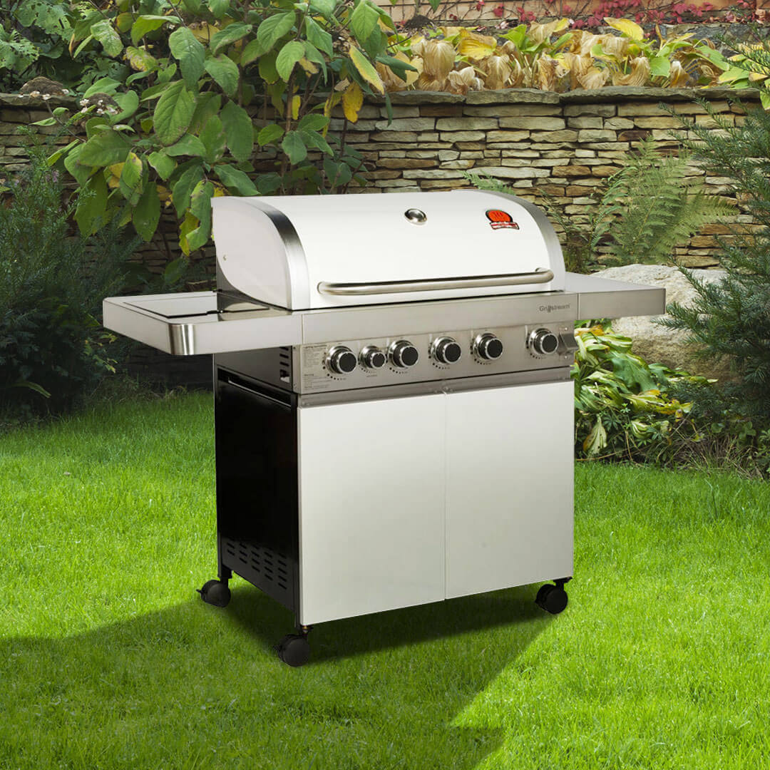 Image of BillyOh Prestige 5 Burner Hooded Gas BBQ