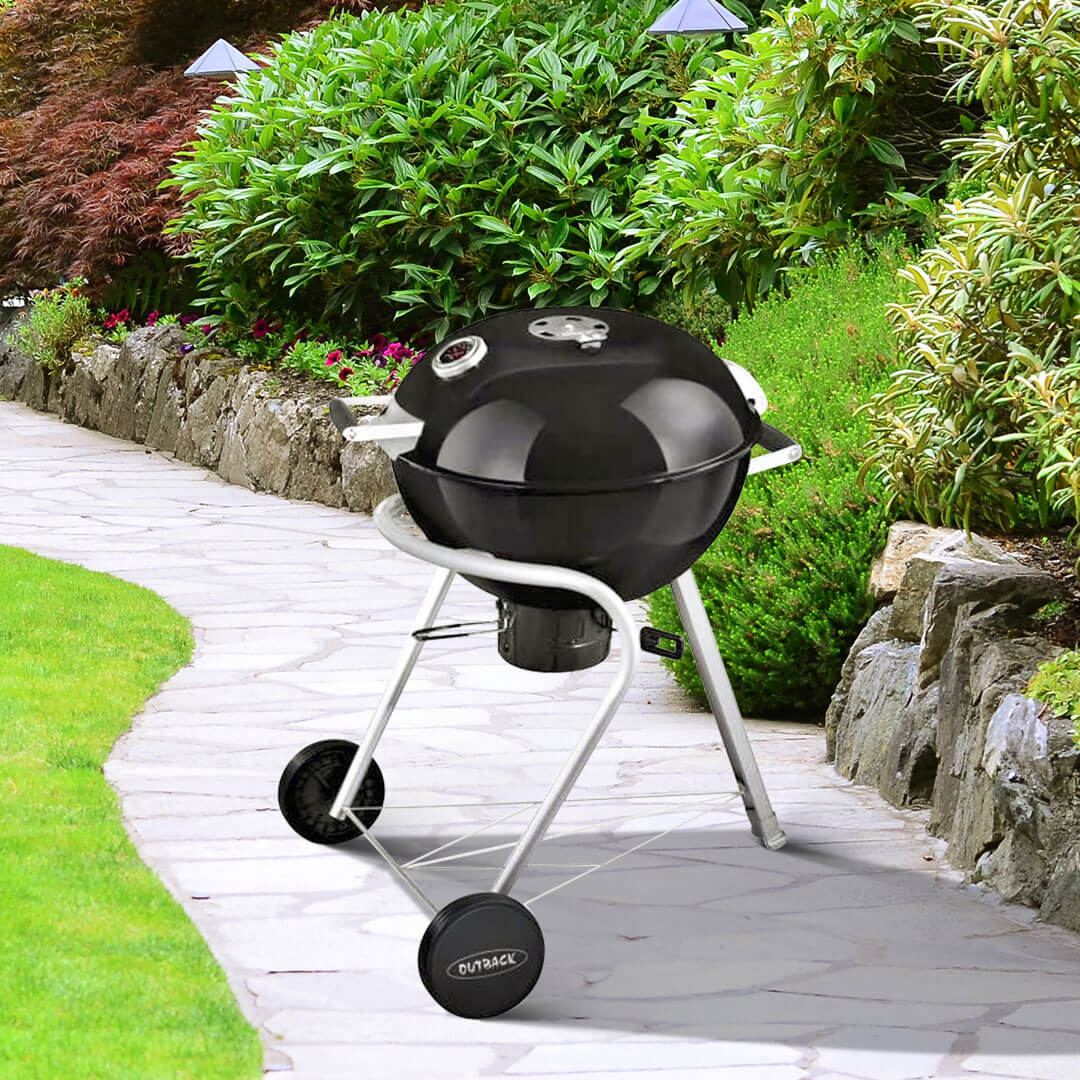 Image of Outback Charcoal 57cm Black Kettle Barbecue