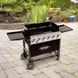 Outback Party 6 Burner Barbecue - With Hose & Regulator