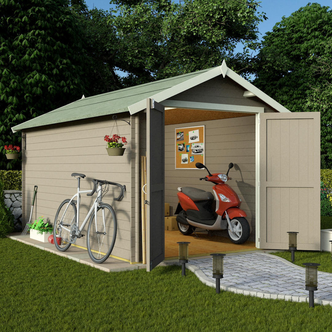 Garden Sheds 12x8 garden sheds from the gardening website
