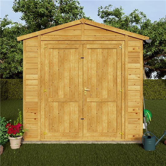 8x8 Windowless Gable End Door