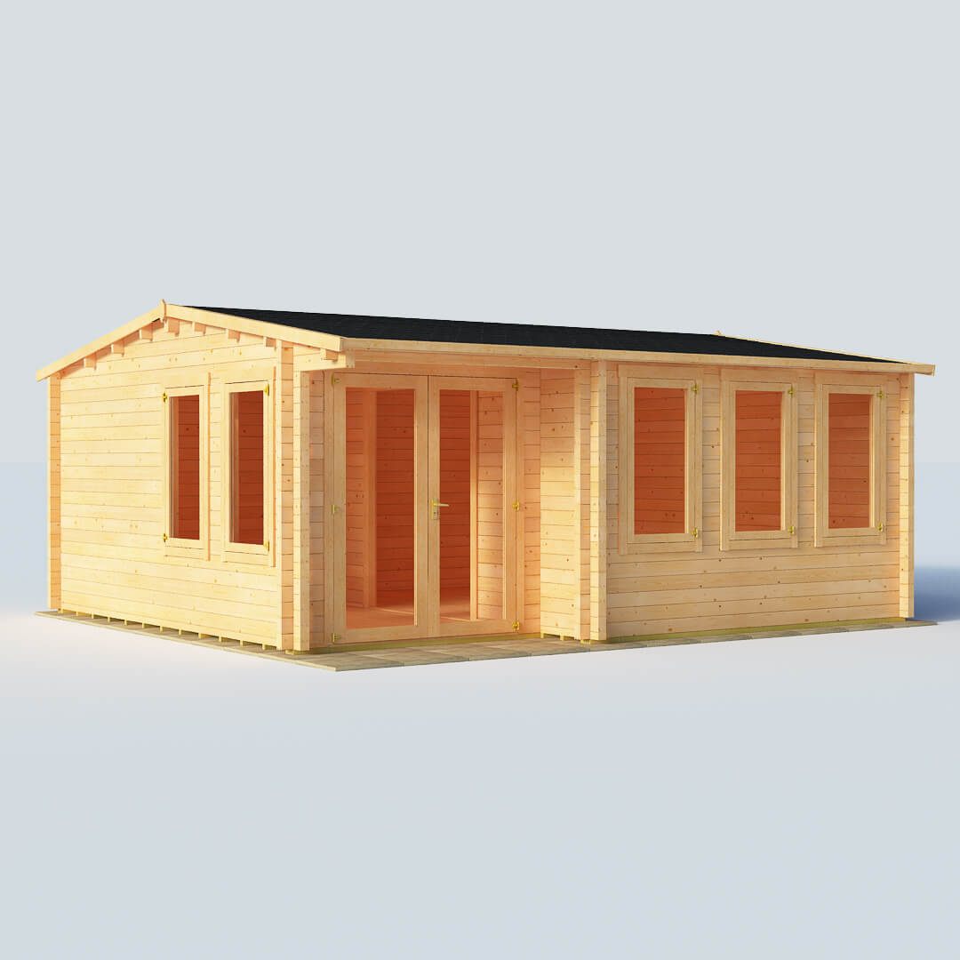 Image of BillyOh Kent Garden Office W5.5m x D5.0m 70mm