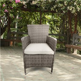 BillyOh Rosario Dining Chairs - 2/4/6/8 Seat Rattan Dining Chairs in Natural with Cushions