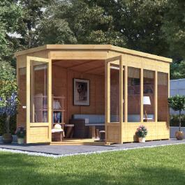 BillyOh Renna Tongue and Groove Corner Summerhouse