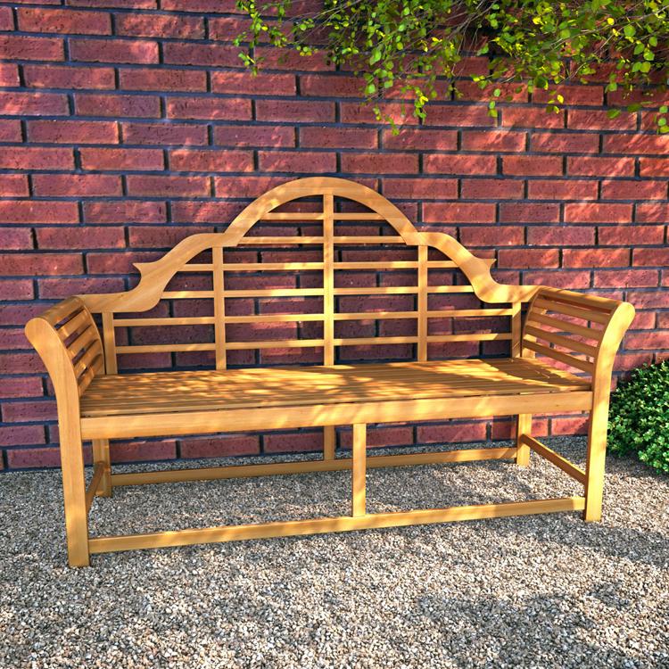 Admirable Billyoh Windsor 3 Seater Lutyens Wooden Garden Bench Squirreltailoven Fun Painted Chair Ideas Images Squirreltailovenorg