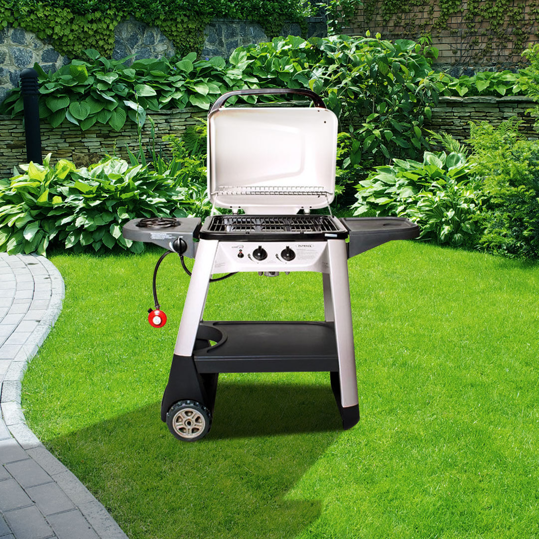 Image of Outback Excel 300 2 Burner Hooded Barbecue