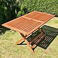 BillyOh Elegance Garden Table - 1.35m Rectangular Folding