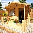 The Billyoh Nook 19mm 9 x 10 Log Cabin