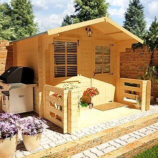BillyOh Pathfinder 'Nook' Log Cabin