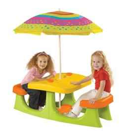 Image of Keter Patio Center - Childrens Picnic Table